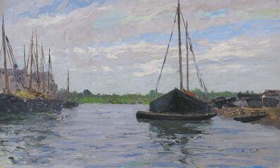 Alfred Zoff, 'Chioggia', 1910