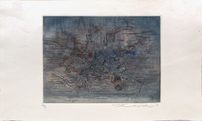 Zao Wou-Ki 趙無極, 'Untitled', 1957