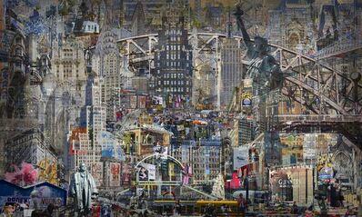 Jean-François Rauzier, 'Palympsestes NY', 2018