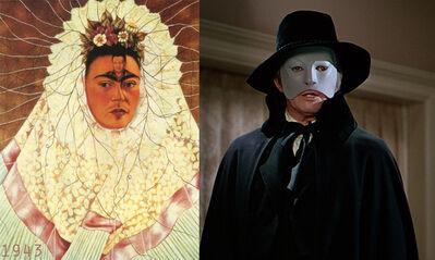 Bonnie Lautenberg, '1943, Phantom of the Opera - Frida Kahlo, Self Portrait as a Tehuana ', 2018