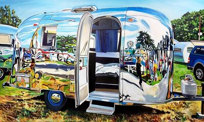 Taralee Guild, 'Airstream Self Reflection, Lynden WA', 2019