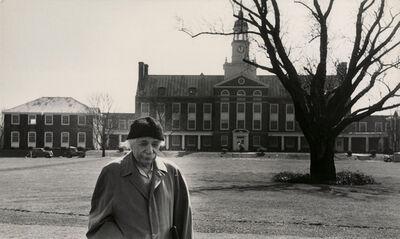 Esther Bubley, 'Albert Einstein at Princeton', 1953