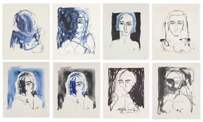 Tracey Emin, 'These Feelings Were True - Set of 8 Lithographs ', 2020