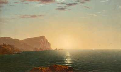 John Frederick Kensett, 'New England Sunrise'