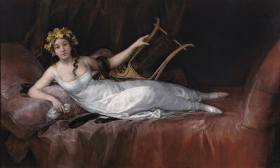 Francisco de Goya, 'The Marchioness of Santa Cruz', 1805