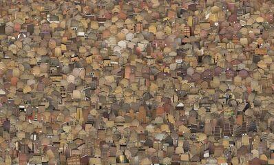 Hubert Blanz, 'Homeseekers - A City from Behind (Panel 2)', 2012-2016