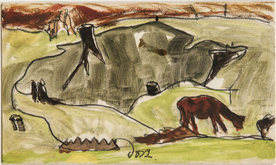 Arthur Garfield Dove, 'Cows and Stumps', 1938