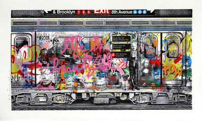 Mr. Brainwash, 'Chelsea Express', 2016
