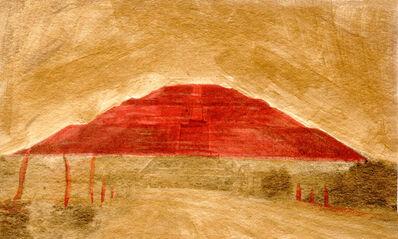 Cristina Kahlo, 'Variaciones sobre la Pirámide del Sol No. 10', 2018