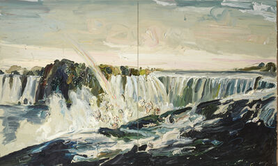 Allison Schulnik, 'Niagara Falls No. 5 (Currier & Ives)', 2008