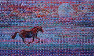 Alfredo Arreguin, 'Red Pony', 2015
