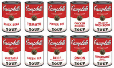 Andy Warhol, 'Campbell's Soup Can I Portfolio (10 prints)', 1960s printed after