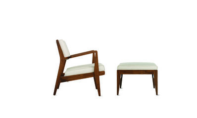 Jens Risom, 'Jens Chair and Ottoman', 2008