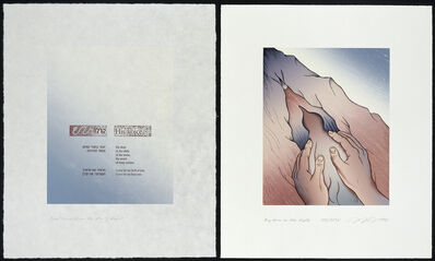 Judy Chicago, 'Voices from the Song of Songs: My Dove', 1998