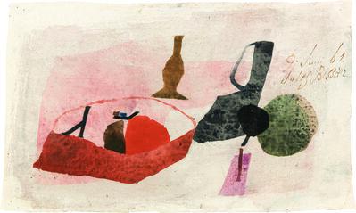 Julius Bissier, '9.Juni 61', 1961
