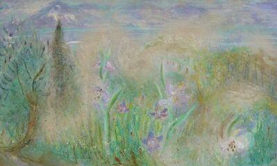 Winifred Nicholson, 'Flowers in a Landscape', ca. 1970