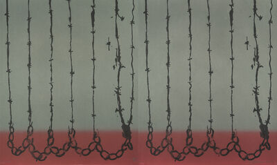 Melvin Edwards, 'Curtain for Friends', 2015