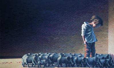ZHANG LINHAI, 'Sandbox', 2011