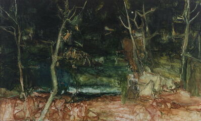Tu Hongtao, ' I am Painting while Cézanne Having a Rest', 2015