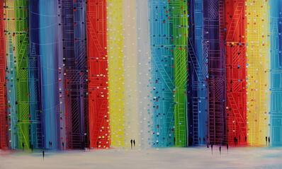 Ekaterina Ermilkina, 'Rainbow Midnight', 2017