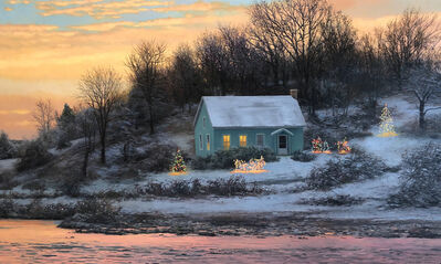 Scott Prior, 'Winter House on the River', 2019