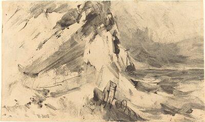 William M. Hart, 'Shipwreck in Storm'