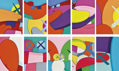 KAWS, 'No Reply (Complete portfolio of 10 screenprints)', 2015