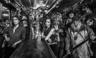 David Yarrow, 'The Unusual Suspects', 2018