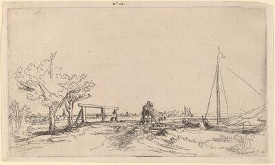 Rembrandt van Rijn, 'Six's Bridge', 1645