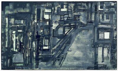 Maria Helena Vieira da Silva, 'Rue des quatre-vents à Yevres', 1968