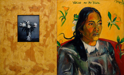 David Bierk, 'In absence of paradise 3 to Gauguin and Fantin Latour', 1990