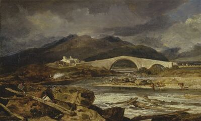J. M. W. Turner, 'Tummel Bridge, Perthshire', 1802-03