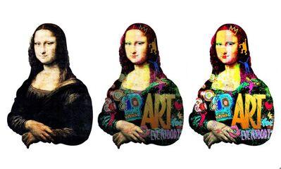Patrick Rubinstein, 'Pokerface Mona', 2018