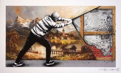 Martin Whatson, 'Behind The Curtain Collab - The Wall', 2018