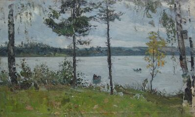 Pavel Izmailovich Khaykin, 'Oka River', 1967