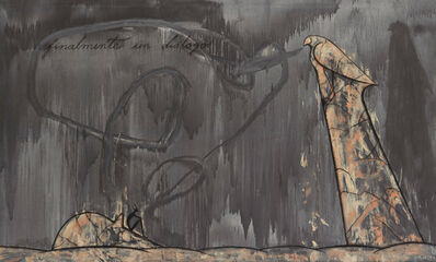 José Bedia, 'Finalmente un Dialogo (Finally a Dialogue)', 2000