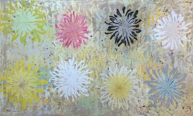 Perry Burns, 'Chrysanthemum Tapestry', 2017