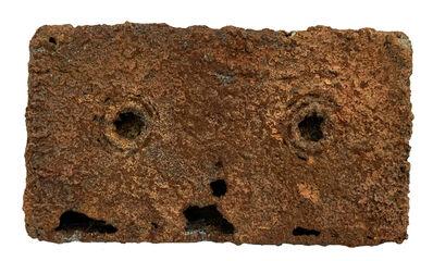 Toshiyuki SHIBAKAWA, '表象II.40190821 (兩千年後出土的錄音帶化石) AppearanceⅡ.40190821 (Video Tape Fossil Excavated 2000 Years Later)', 2019