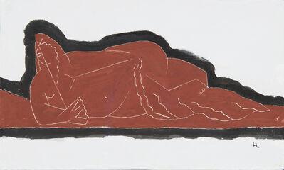 Henri Laurens, 'Nu à l'éventail', 1926