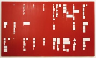 David Diao, 'Barnett Newman: Paintings in Scale (Updated)', 2010