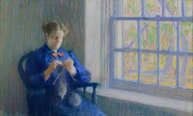 Gertrude Magie, 'Knitting', ca. 1900