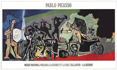 Pablo Picasso, 'The War', 1988