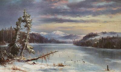 Régis François Gignoux, 'Snowy Landscape', 1868