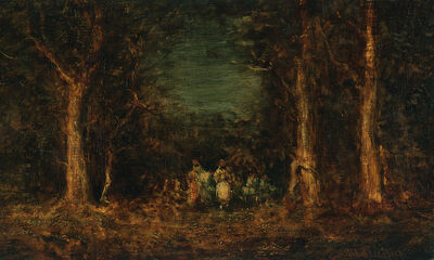 Ralph Albert Blakelock, 'Captive', Late 19th century