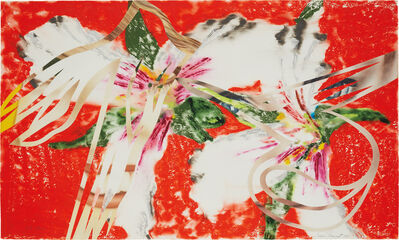 James Rosenquist, 'Sister Shrieks, from Secrets in Carnations', 1987