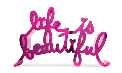Mr. Brainwash, 'Life Is Beautiful-Hard Candy Fuchsia', 2020