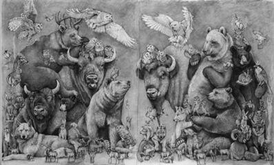Adonna Khare, 'Bison and Bears', 2020