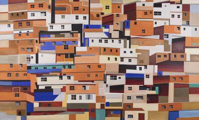 Jeffrey Long, 'Orange Houses', 2019
