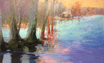 Andy Braitman, 'Sunset Riverside', 2019