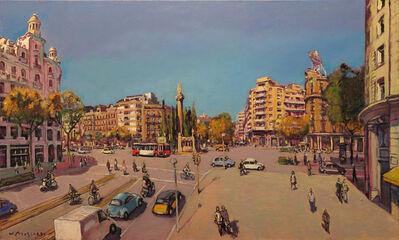 Josep Moscardó, 'Passeig de Sant Joan ', 2017